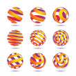 Royalty-Free Stock Vector Image: Sphere Design Elements