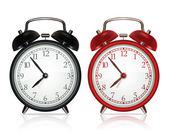 ベクトル目覚まし時計 — ストックベクタ