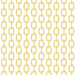 Royalty-Free Stock Векторное изображение: Gold chain seamless vector background.