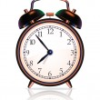Royalty-Free Stock Vector Image: Vector alarm clock