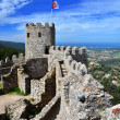 Castle of the Moors, Sintra, Portugal landmark — Stock Photo