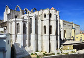 Carmo Convent (Convento do Carmo in Portuguese), Lisbon — Stock Photo