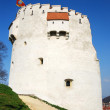 White Tower, in Brasov city, Romania - Stock Photo
