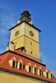 Brasov, Council Square tower — Stock Photo