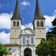 Stock Photo: Hofkirche cathedral in Luzern, Switzerland