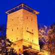 Stock Photo: Black Tower in Brasov, Transylvanicounty in Romania.