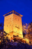 Black Tower in Brasov, Transylvania county in Romania. — Fotografia Stock
