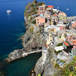 Vernazza, small fisherman town in Cinque Terre — Stock Photo