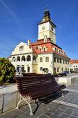 Council Square of Brasov, in Transylvania, Romania — Stock Photo