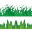 Grass vector backround, illustration — Vettoriali Stock