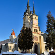 Saint Nicholas Orthodox Church in Brasov, Romania — Stock Photo