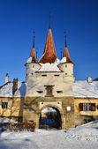 Fortificación de Brasov, ecaterina puerta schei — Foto de Stock