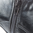 Buckle on the leather shoes. Closeup. — Stock Photo