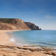 The beach on the rocky coast of Portugal. — Stock Photo #8128323