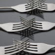 Set of forks — Stock Photo
