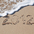 Royalty-Free Stock Photo: New Year 2012 is coming