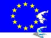řecko z evropy — Stock fotografie
