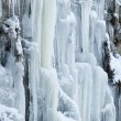 Frozen waterfall — Stock Photo #8802735