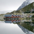 Mirror in Norway — Stock Photo