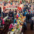 Market place scene — Stock Photo