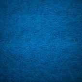 Blue leather texture for background — Stock Photo