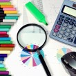 Stock Photo: Statistical analysis tools