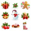 Christmas object. — Stock Vector