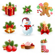Christmas object. — Stock Vector #8099137