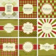 Christmas vintage backgrounds. — Vetor de Stock  #8099179