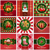 Christmas vintage backgrounds. — Wektor stockowy