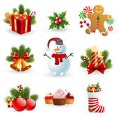 Christmas object. — Stock Vector