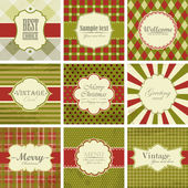 Christmas vintage backgrounds. — Stock Vector