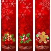 Christmas banners. — Stock Vector