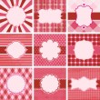 Royalty-Free Stock Vectorielle: Vector set of valentine\'s day.