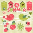 Summer — Vector de stock #10170413