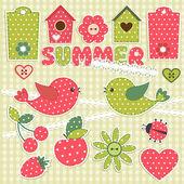 夏天 — 图库矢量图片