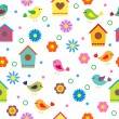 Colorful seamless pattern - Imagen vectorial