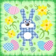 Easter bunny - Stockvectorbeeld