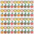 Apples — Stockvector #9420226