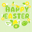 Royalty-Free Stock Vector Image: Easter in scrapbook style