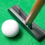 Golf putter — Stock Photo