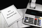 2012 Retirement Planning Guide — Stock Photo