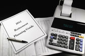 2012 Retirement Planning Guide 2 — Stock Photo