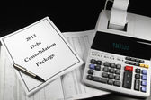 2012 Debt Consolidation Package — Stock Photo