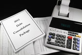 2012 Debt Consolidation Package 2 — Stock Photo
