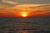 A Destin Sunset — Stock Photo