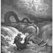 Stock Photo: Destruction of Leviathan