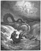 The Destruction of Leviathan — Stock Photo