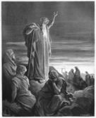 The Prophet Ezekiel — Stock Photo
