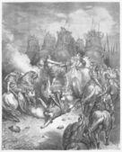 The Punishment of Antiochus — Stock Photo
